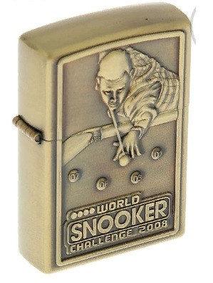Зажигалка «Любителю бильярда» в металлической коробке, кремний, бензин, 6x8 см, фото 2