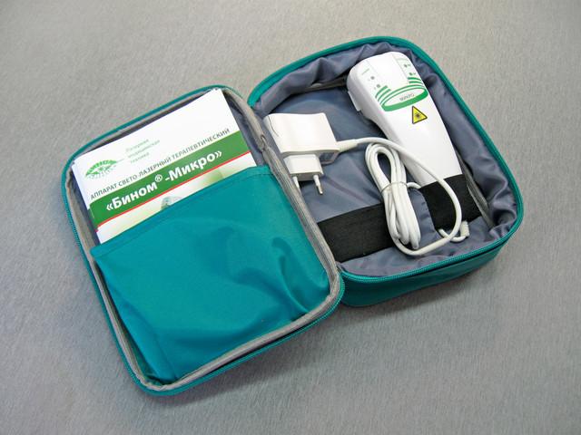 Бином Микро - аппарат лазерной терапии для использования на дому.