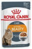 Royal Canin Intense Beauty в соусе Паучи для кошек красота шерсти (12 шт. по 85 гр)