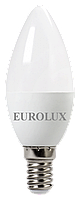 Лампа светодиодная LL-E-C37-6W-230-2,7K-E14 Eurolux