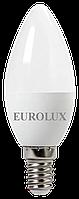 Лампа светодиодная LL-E-C37-7W-230-4K-E14 Eurolux