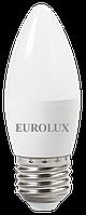 Лампа светодиодная LL-E-C37-6W-230-2,7K-E27 Eurolux
