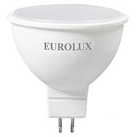 Лампа светодиодная LL-E-MR16-7W-230-2,7K-GU5.3  Eurolux