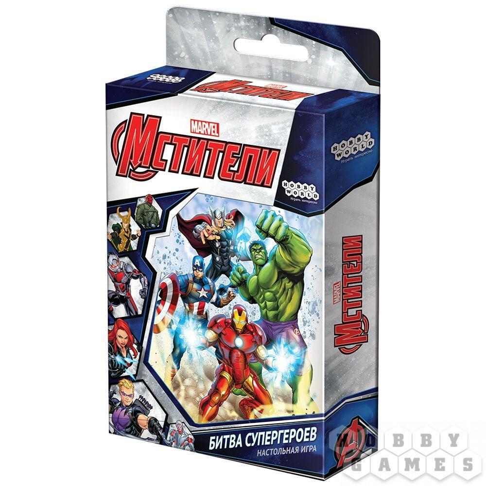 Настольная игра: Мстители: Битва Супергероев