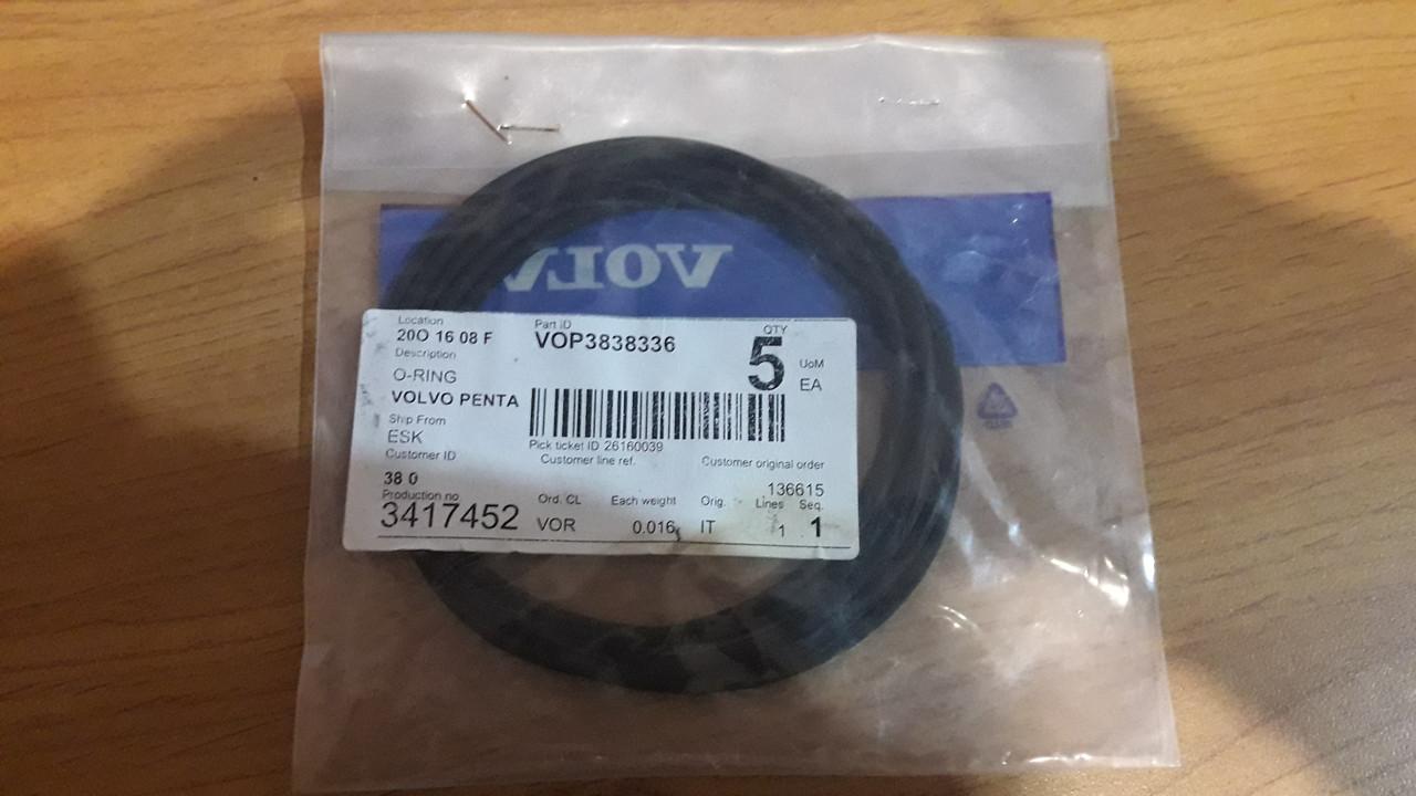 3838336Volvo Penta O-ring  Прокладка