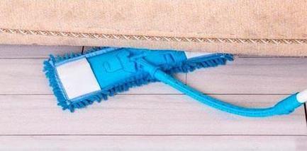 Швабра с микрофиброй Flexible Mop с гибкой телескопической ручкой, фото 3
