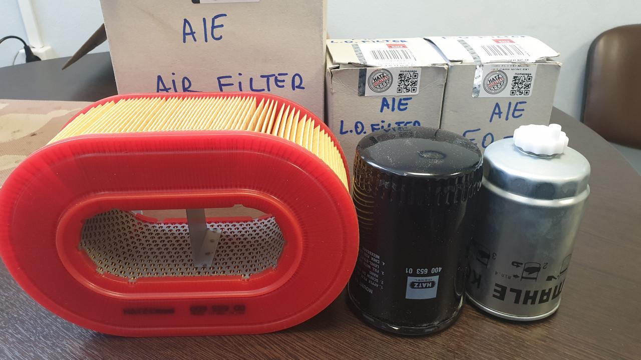 Сервисный набор (комплект) из 3-х фильтров HATZ