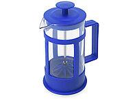 Пластиковый френч-пресс Savor, 350 мл, синий