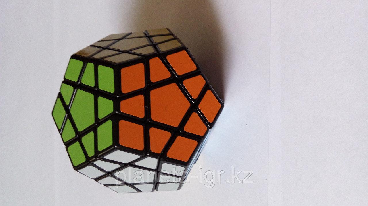 Кубик Megaminx Мегаминкс 3х3 черный Шенгшоу