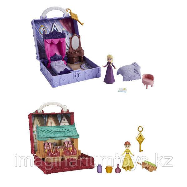 Мини игровые наборы шкатулки с Эльзой и Анной Холодное сердце Frozen 2