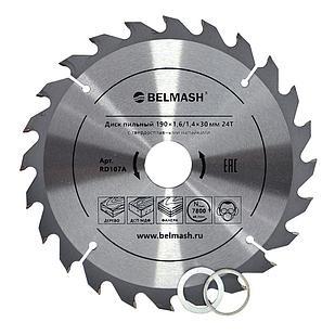 BELMASH 190×1,6/1,4×30/25,4/22,2 24Т Диск пильный