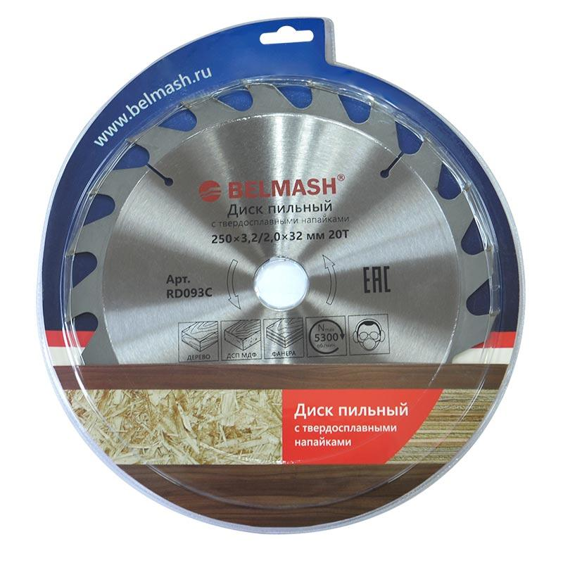 BELMASH 250х3,2/2,0х32ММ 20Т Диск пильный