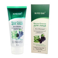 Маска-плёнка для лица XI FEI SHI  c алоэ и виноградом