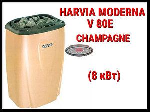 Электрическая печь Harvia Moderna V 80E (Champagne) под выносной пульт управления