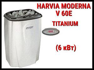 Электрическая печь Harvia Moderna V 60E (Titanium) под выносной пульт управления