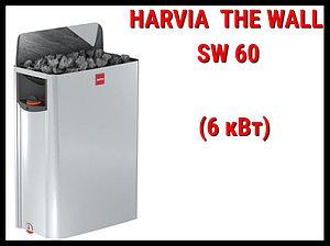 Электрическая печь Harvia The Wall SW 60 со встроенным пультом