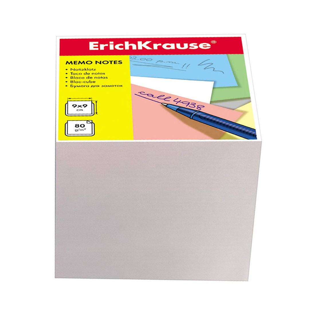 Бумага настольная ErichKrause (90x90x90 мм, Белый)