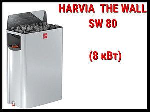 Электрическая печь Harvia The Wall SW 80 со встроенным пультом