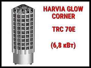 Электрическая печь Harvia Glow Corner TRC 70E под выносной пульт управления