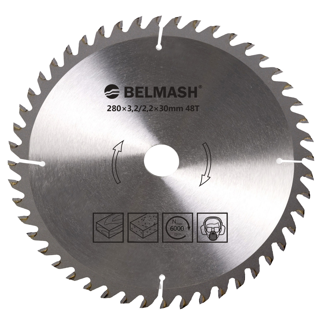 BELMASH 280х3,0/2,0х30ММ 48Т Диск пильный