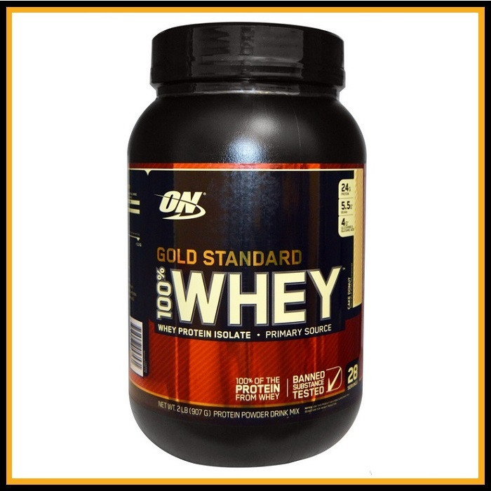 ON Whey gold standard 909гр (печенье со сливками)