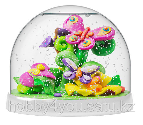 Набор Создай Волшебный шар со снегом Бабочки, фото 2