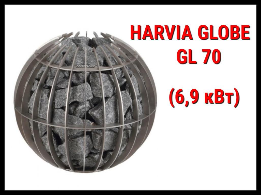 Электрическая печь Harvia Globe GL 70 под выносной пульт управления