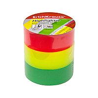 Пакет клейких лент ErichKrause Highlighter (40201, 18ммх20м)