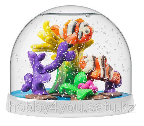 Набор Создай Волшебный шар со снегом Рыбки, фото 2