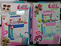 LOL чемодан доктора-кухня на колесах 2в1