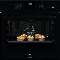 Встраиваемый Электрический Духовой шкаф Electrolux Intuit 600 PRO с функцией пара SteamBake Чёрный