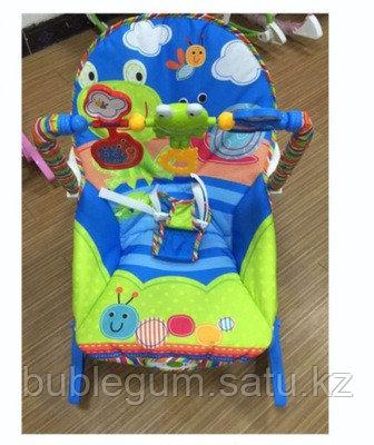 Детский шезлонг-качалка iBaby 68110 (аналог Fisher price)