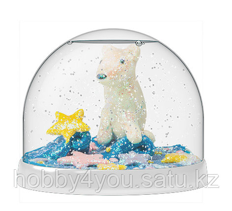 Набор Создай Волшебный шар со снегом Домики, фото 2