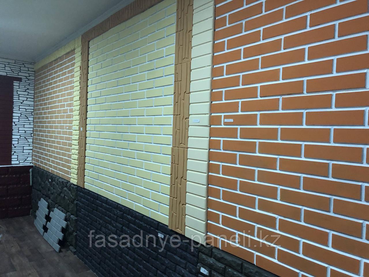"""Термопанель для отделки деревянного дома Fasade-EXPERT, фактура кирпич """"Классика"""" с утеплителем 50мм - фото 8"""