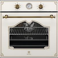 Встраиваемый Электрический Духовой шкаф Electrolux 600 FLEX OPEA 2550 V Кремовый