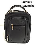 Мужская деловая сумка под документы Cantlor. Высота 23 см, ширина 17 см, глубина 7 см., фото 1