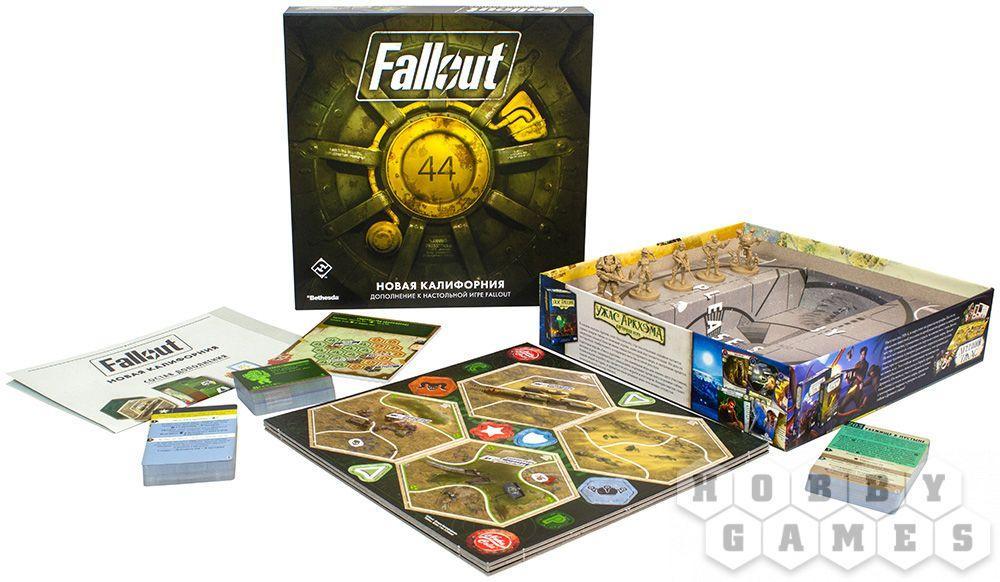 Настольная игра: Fallout: Новая Калифорния - фото 2