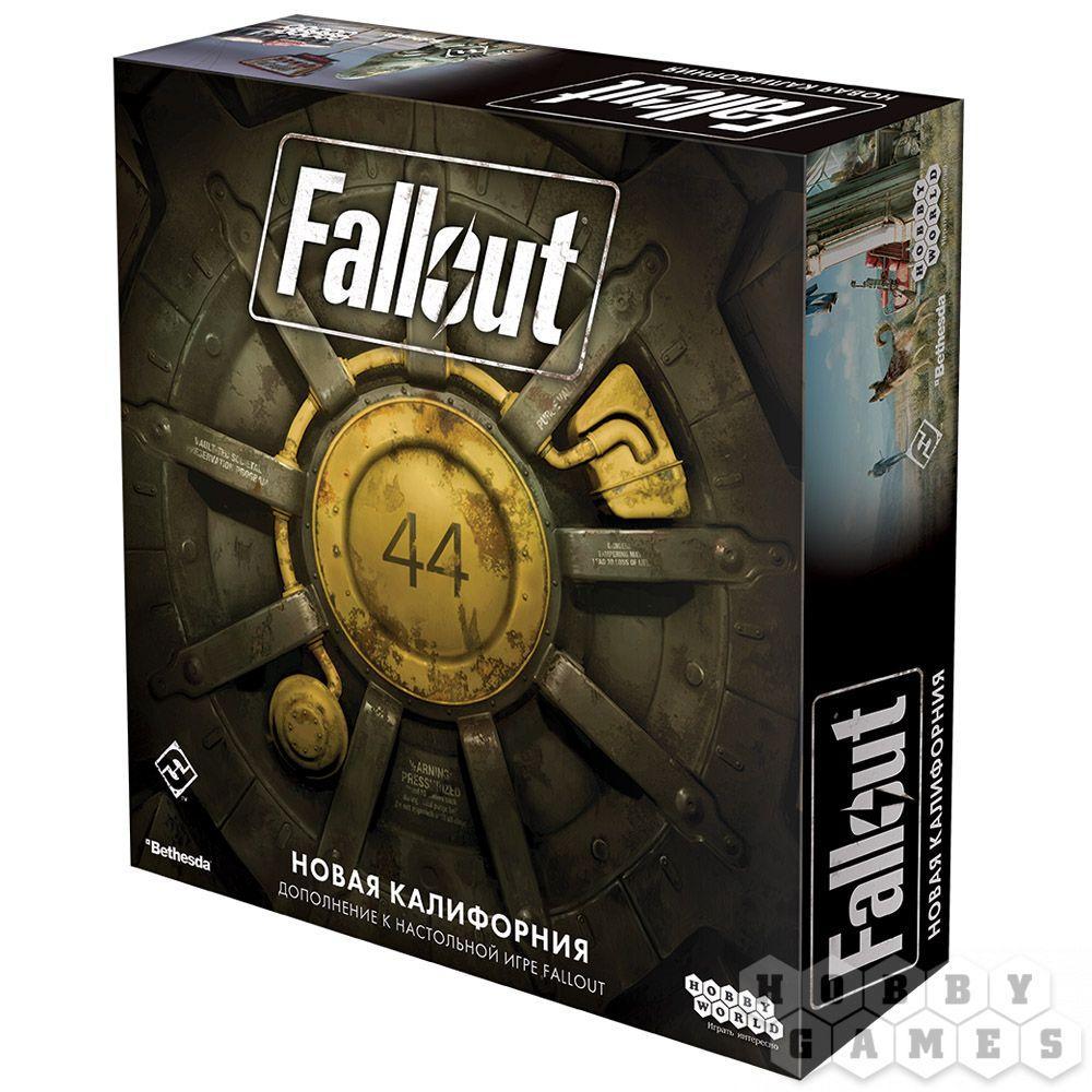 Настольная игра: Fallout: Новая Калифорния - фото 1