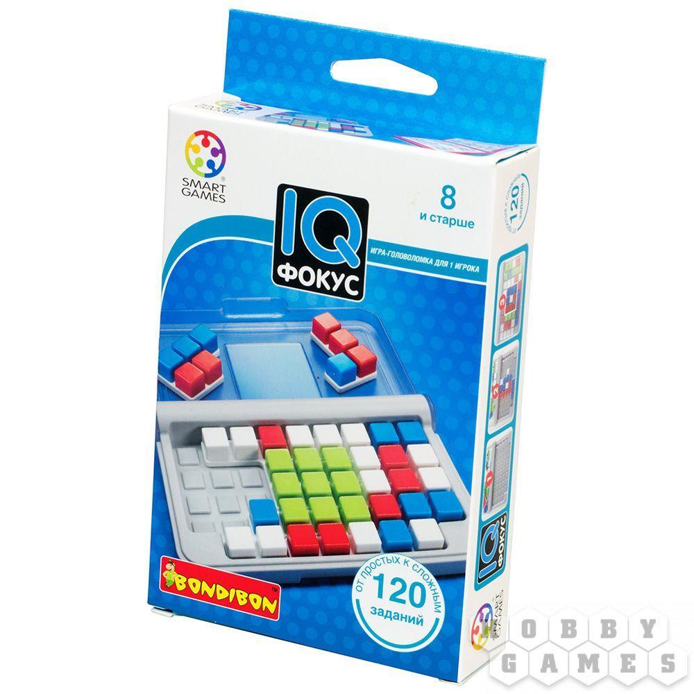 Настольная игра: BONDIBON: IQ-Фокус