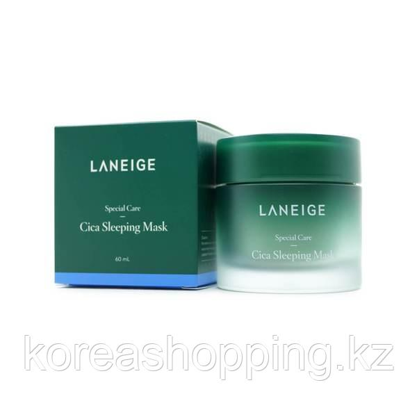 Ночная маска для лица, Laneige Cica sleeping mask