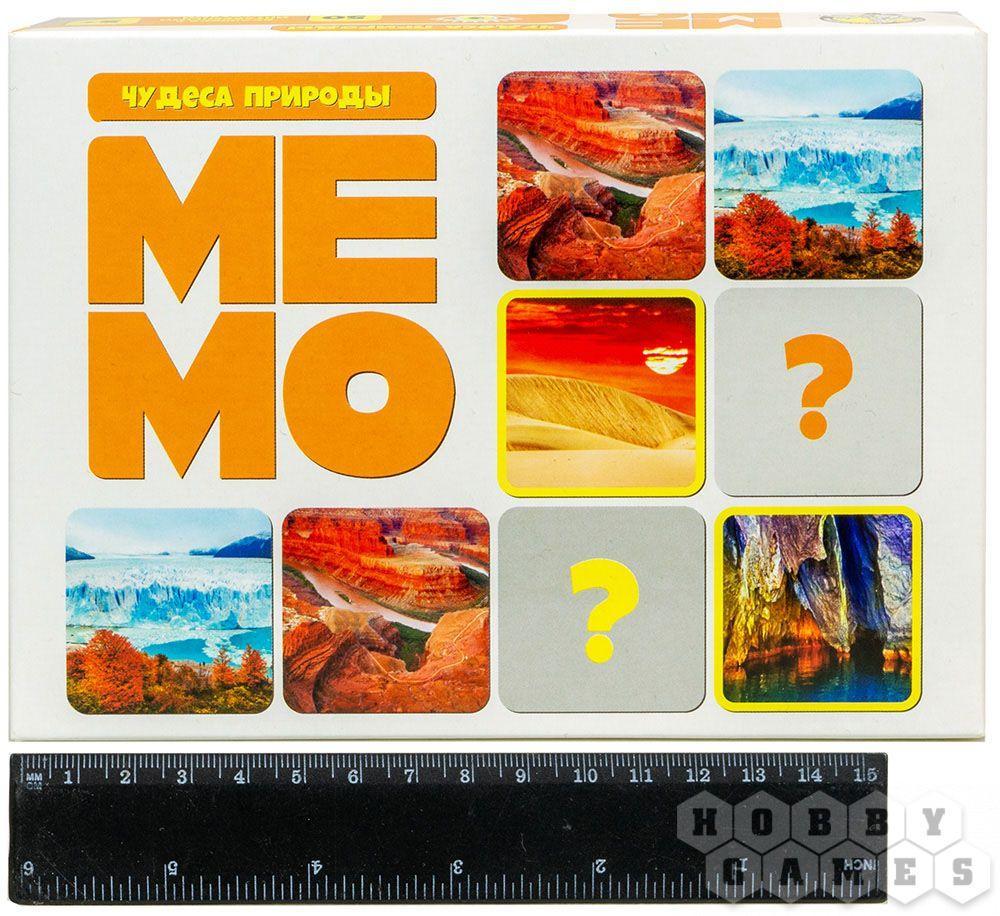 Настольная игра: Мемо Чудеса природы (50 карточек) - фото 2