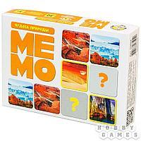 Настольная игра: Мемо Чудеса природы (50 карточек)