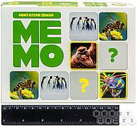 Настольная игра: Мемо Обитатели земли (50 карточек)