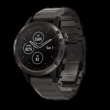 Часы с GPS навигатором Fenix 5 Plus