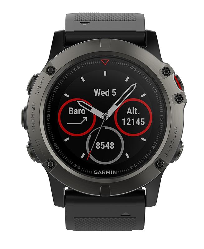 Часы с GPS навигатором fēnix 5X