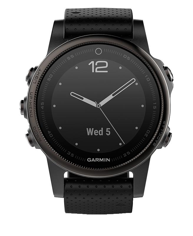 Часы с GPS навигатором fēnix 5S