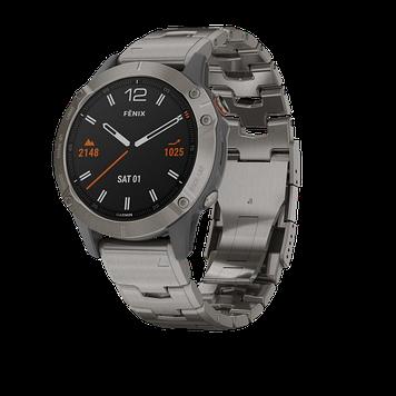 Часы с навигатором fenix 6,Sapphire