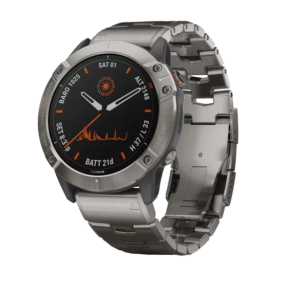 Часы с навигатором fenix 6X Pro Solar