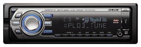 Автомагнитола Sony CDX-GT670US