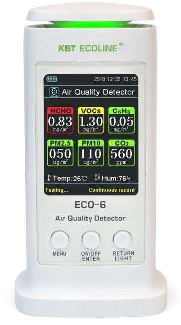 """Анализатор воздуха КВТ ECO-6 """"ECOLINE"""""""